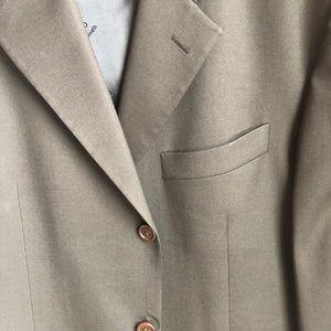 Tan/Brown Men's Italian Suit Jacket